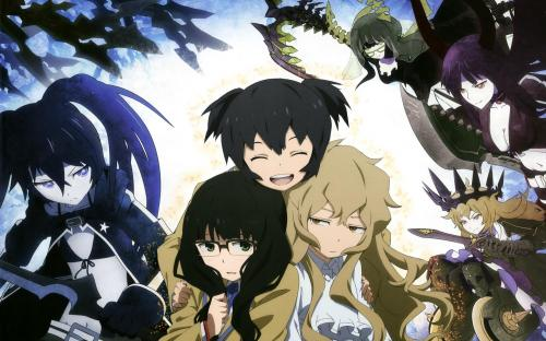 Black rock shooter mato and friends