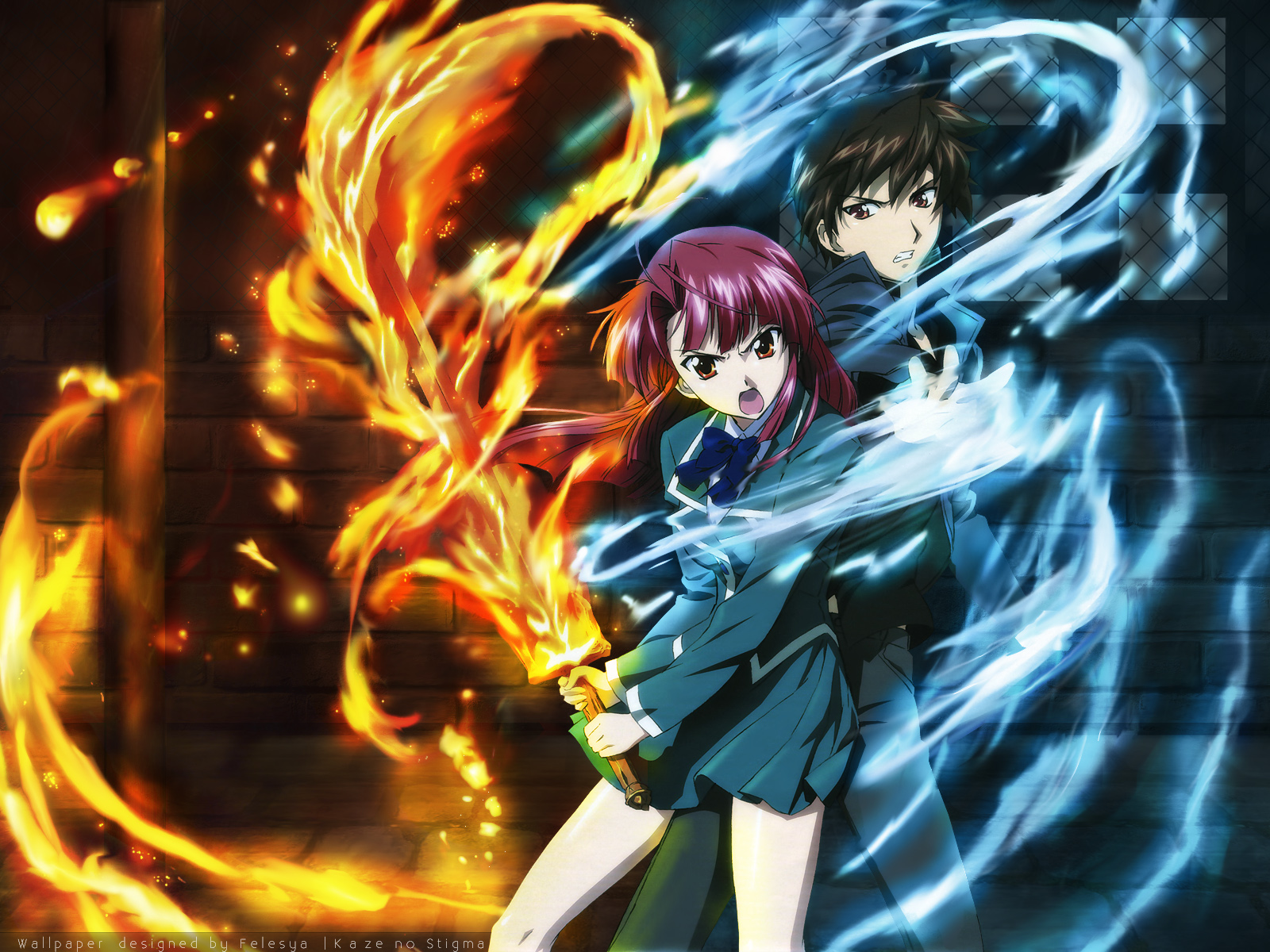 Wallpapers kaze no stigma 1